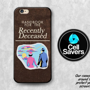 Beetlejuice Book iPhone 6s Case iPhone 6 iPhone 6 Plus iPhone 6s + iPhone 5c iPhone 5 iPhone SE Handbook for the Recently Deceased Cover