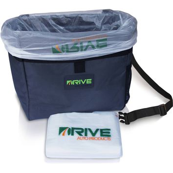 Car Garbage Can by Drive Auto Products from The Drive Bin As Seen On TV Collection