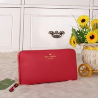 """Kate Spade"" Women Purse Fashion Simple Multifunction Zip Long Section Wallet Handbag"