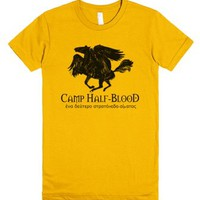 Camp Half-Blood Pegasus-Female Gold T-Shirt