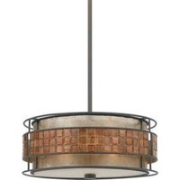 Mica - Three Light Pendant by Quoizel Lighting : MC842C