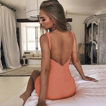 Bonnie Dress - Orange