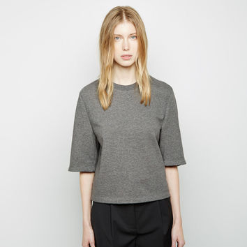 Cropped Boxy Sweatshirt by 3.1 Phillip Lim