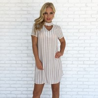 Natures Stripe Shift Dress
