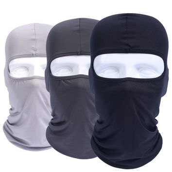 Lycra Balaclava Full Face Mask Windproof Combat Bicycle Hats Cap Tactical Helmet Liner Protection For Men Women