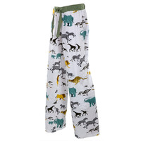 Safari Animals Adult Pajama Pants