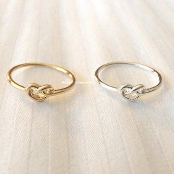 Wired Heart ring - Gold and Silver, knuckle rings, midi rings, mini rings, silver ring, gold ring, infinite love, minimalist ring