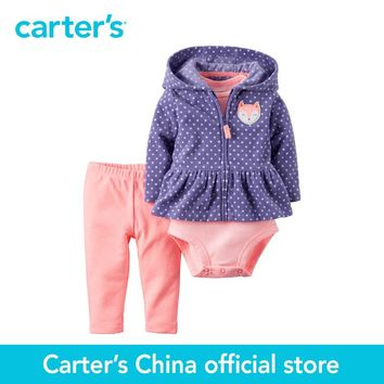 Carter's 3 pcs baby children kids Neon Cardigan Set 121H014, sold by Carter's China official store