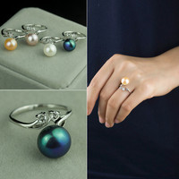 Stylish Gift Jewelry New Arrival Shiny Pearls Accessory Hot Sale Ring [4914861380]