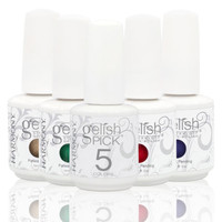 CHOOSE 5 Gelish UV Gel Harmony Manicure PICK Color Coat Gel Nail Polish .5