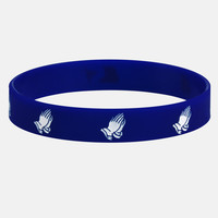 Blessings navy wristband