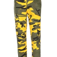 High Waist Fashion Camouflage Pants