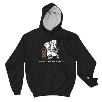 Got Your Back Bro 2nd Amendment Champion Heavy Pullover Hoodie