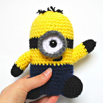 Minion - Crochet Stuffed Toy (Amigurumi)