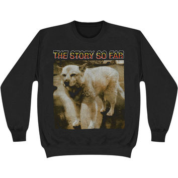 Story So Far Men's  Husky Sweatshirt Black