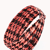 High-Wattage Houndstooth Headwrap