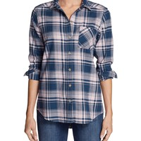 Women's Stine's Favorite Flannel Shirt - Boyfriend | Eddie Bauer