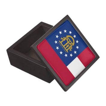 Georgia State Flag Premium Gift Box