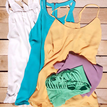 Beachy Summer Top Collection