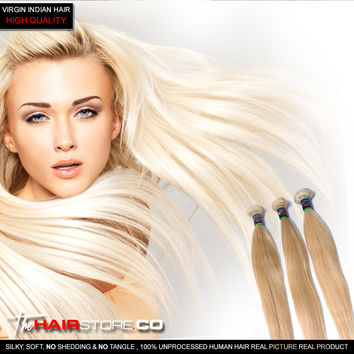 BLONDE (STRAIGHT) Hair Extensions