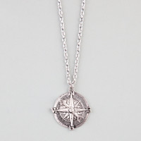 FULL TILT Compass Necklace 228793140 | Necklaces
