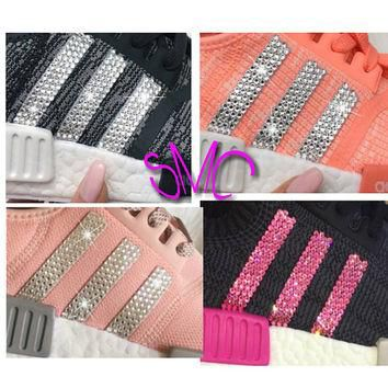 Custom Swarovski Adidas Nmd Shoes Originals Sneakers Women's Customized Trainers
