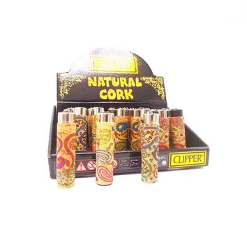 Natural Cork Clipper Lighter bundle