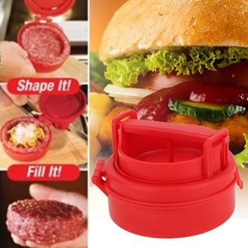 Stuffed Burger Hamburger Press Tool