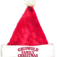 Christmas Vacation Griswold Family Christmas Adult Red Santa Hat