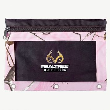 Realtree© Pink Camo Pencil Pouch | Pink Camo Pencil Cases