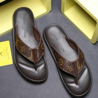 Louis Vuitton Lv Flip Flop Sandal Men Slipper 1