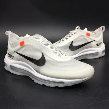 NIKE AIR MAX 97 Sport Shoes Women Men Sneakers Running Shoes3