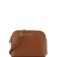Jet Set Small Travel Dome Crossbody Bag, Luggage - MICHAEL Michael Kors