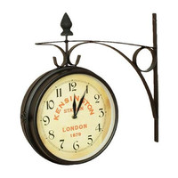 Kensington Station Garden Wall Clock-Small