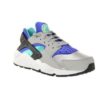 Nike Air Huarache Run Women's Shoes Wolf Grey/Light Retro-Artisan Teal-Persian Violet 634835-008