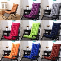 Newly Deck Chair Cushion Comfy Patio Backyard Garden Seat Pad Tufted Mattress US