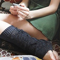 Wooden Ships  Open Stitch Legwarmer at Free People Clothing Boutique