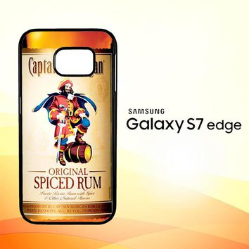 Captain Morgan Original Spiced Rum L2150 Samsung Galaxy S7 Edge Custom Case