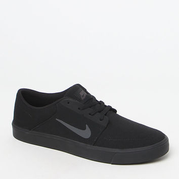 Nike SB Portmore Canvas Shoes at from PacSun  c17ecb6f3