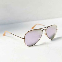 Ray-Ban Bronzed Aviator Sunglasses-