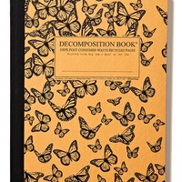 Recycled Composition Notebook | Decomposition Book | Monarch Migration