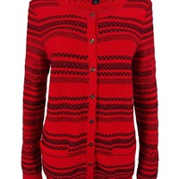 Tommy Hilfiger Women's Striped Knit Cardigan