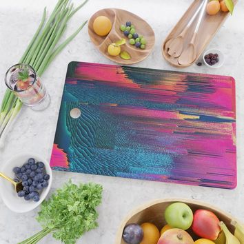Party Puke Cutting Board by duckyb