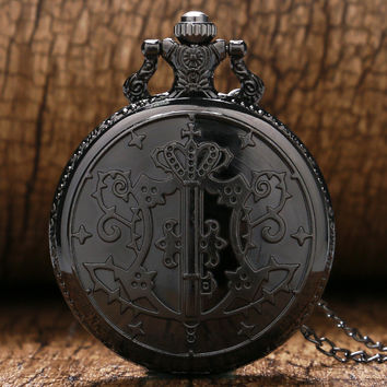Black Butler Sebastian Pocket Watch