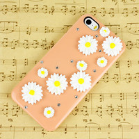 Personalized floral iphone 4s case iphone 5s case iphone 5c case phone case studded iphone 4 cover iphone 5 cover iphone 5c cover otterbox
