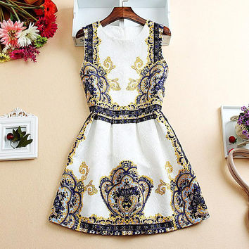 Elegant Summer Style Casual Dress