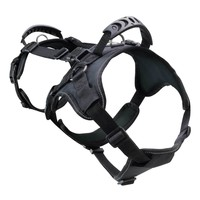 Heavy Duty Double Back Dog Harness I Canine Harness Equipment For Lifting & Transporting I Black, Large
