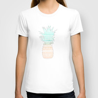 Tribal Pineapple T-shirt by Sunkissed Laughter