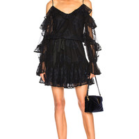 Alexis Magna Dress in Midnight Lace | FWRD