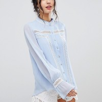 Forever New Blouse With Balloon Sleeve at asos.com
